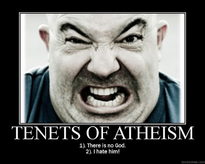 Thou shalt not take Atheism's name in vain